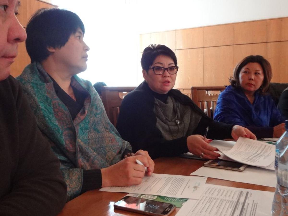 Круглый стол по расширению и децентрализации Многосторонней платформы по питанию Иссык-Кульская область г.Каракол